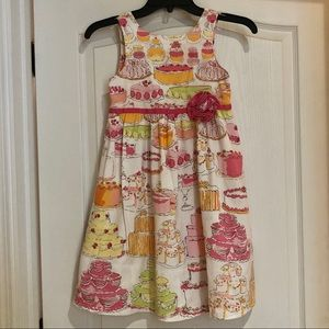 Lilly Pulitzer Let Them Eat Cake Size 7 Dress